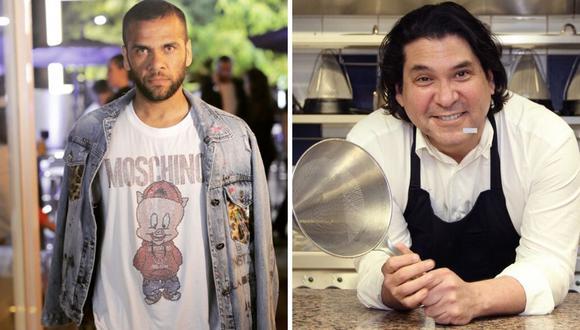 """Dani Alves se rinde ante Gastón Acurio: """"Es uno de mis chef preferidos"""""""