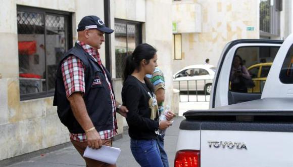 La mujer fue enviada a la cárcel de mujeres del municipio de Bucaramanga.