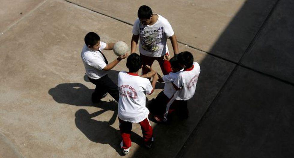 SERÁN ATENDIDOS. Maestros deberán apoyar en la lucha contra la violencia entre escolares. (Alberto Orbegoso)