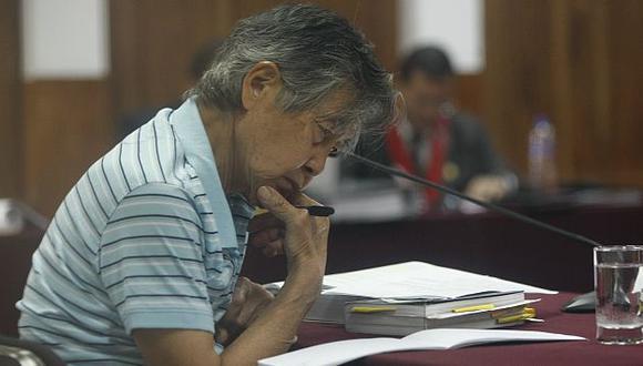 Alberto Fujimori fue internado en la clínica La Luz por una lesión bucal. (David Vexelman)