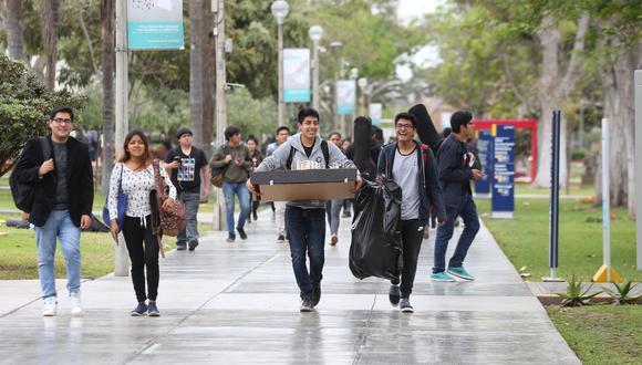 La PUCP decidió suspender clases hasta el 30 de marzo. (GEC)