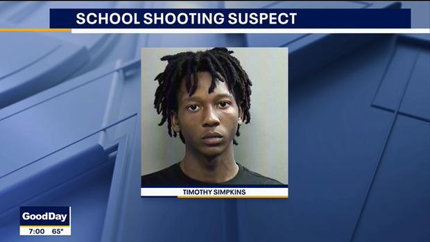 Timothy Simpkins fue trasladado al Centro Correccional del Condado de Tarrant. (Foto: Captura video FOX 4)