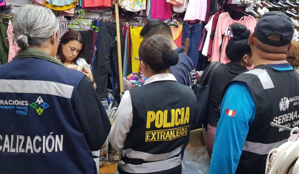 Cinco extranjeros fueron detenidos por no contar con su documentación en regla. (Foto: Difusión)