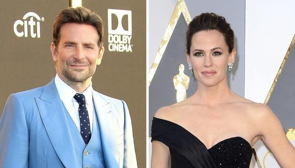 """""""Globos de Oro"""": Jennifer Garner saludó a Bradley Cooper por su día y dijo que """"le enseñó todo lo que sabe"""" (Foto: EFE)"""
