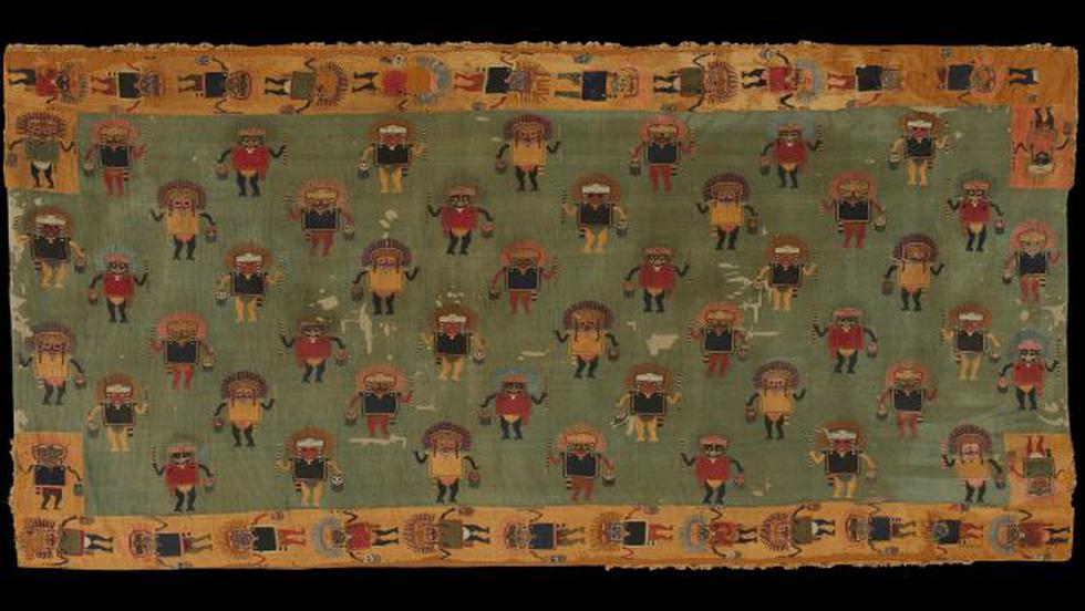 Mantos tejidos de la cultura Nasca (MALI).