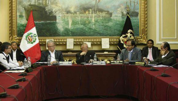 Comisión aprobó por mayoría sanción para Coa. (Luis Gonzáles)