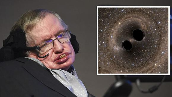 """Stephen Hawking sobre ondas gravitacionales: """"Se descubrió una nueva forma de mirar al universo"""". (EFE/Reuters)"""