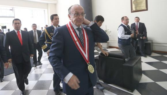 Fiscal José Peláez tendrá que responder ante una nueva comisión disciplinaria del CNM. (Fidel Carrillo)