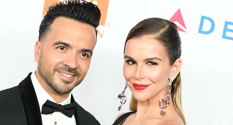 Luis Fonsi y Águeda López tienen dos hijos. (Foto: AFP)