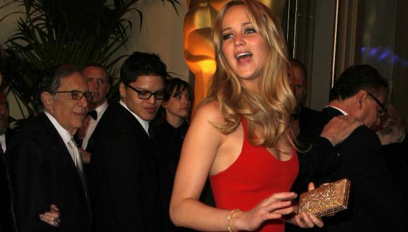 Jennifer Lawrence será la amante de Fidel Castro en nuevo filme (AFP)