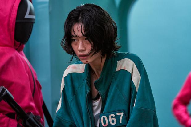 "Jung Ho-yeon играет Кан Sae-byeok в ""игре кальмара ""(Фото: Netflix)"