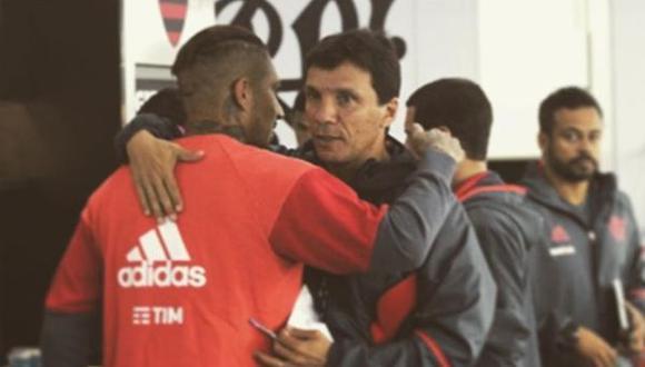 Zé Ricardo conquistó el título del Campeonato Carioca con Paolo Guerrero con Flamengo. (Instagram @guerrero9)