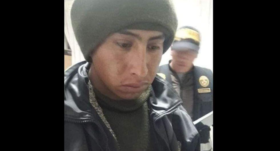 El asesino fue identificado como Wilfredo Rodríguez Quispe (24). Este confesó el crimen en Puno. (PNP)