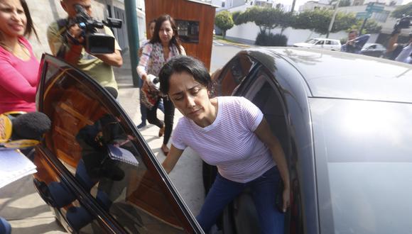 Nadine Heredia es investigada por el presunto delito de lavado de activos. (Mario Zapata)