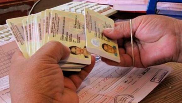 El duplicado de licencias de conducir se solicita a causa de robo, pérdida o deterioro del documento. (Foto: