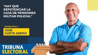 José Cueto candidato al Congreso por Renovación Popular