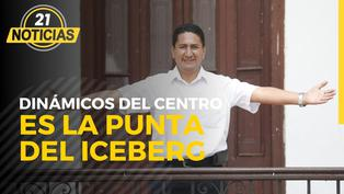 Caso los Dinámicos del Centro es la punta del iceberg