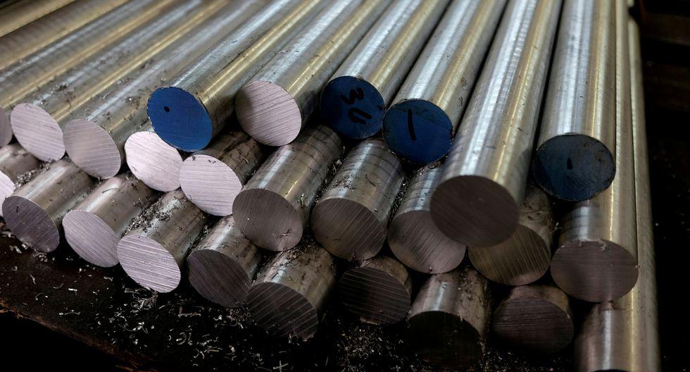 El aluminio continúa su racha alcista este jueves. (Foto: Reuters)