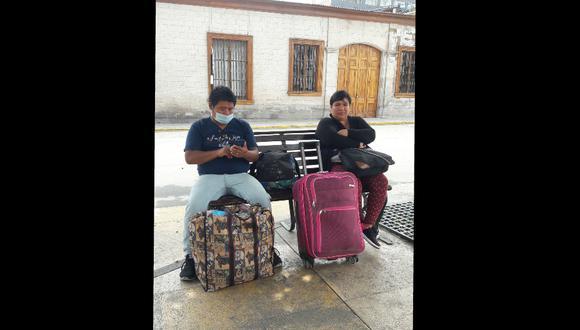 Tacna: Cientos se quedan varados por cierre de terminales terrestres y aeropuertos