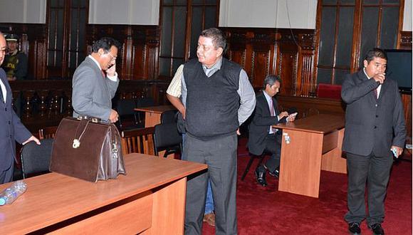 Detuvieron a Francisco Boza, ex presidente de la Corte de Ucayali. (Andina)