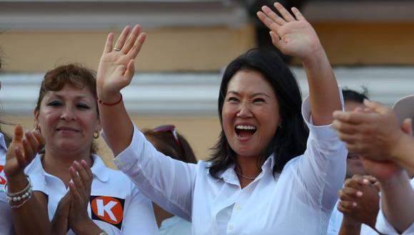 La lideresa de Fuerza Popular, Keiko Fujimori, cumple este viernes 43 años. (Perú21)