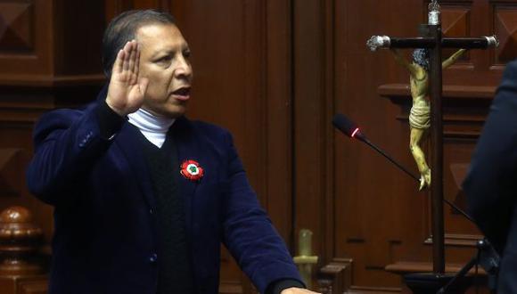 Marco Arana lanzó críticas al discurso de Zavala. (EFE)