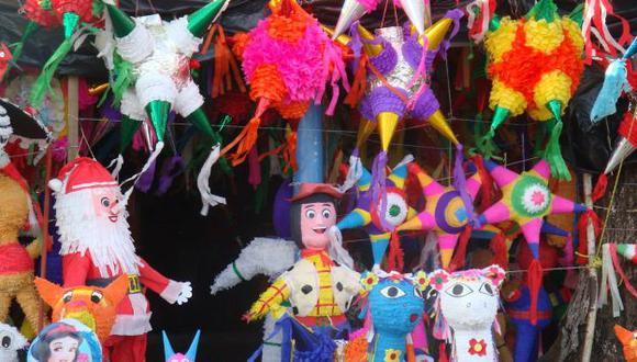Las piñatas también se están usando en celebraciones de adultos. (USI)