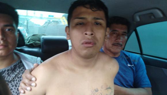 Hampón que fugó de hospital San José fue recapturado en Puente Piedra. (PNP)