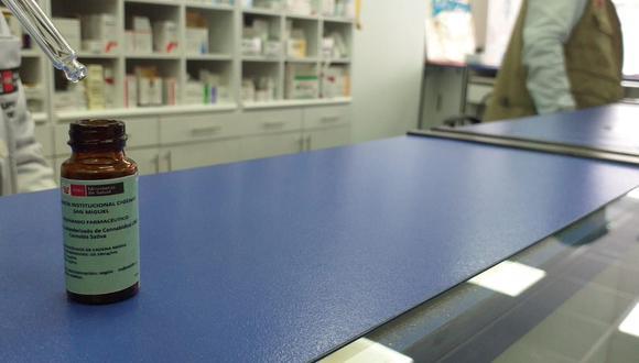 CBD al 10 % y al 5 % se encuentran a la venta en Farmacia Institucional de Digemid. Foto: GEC