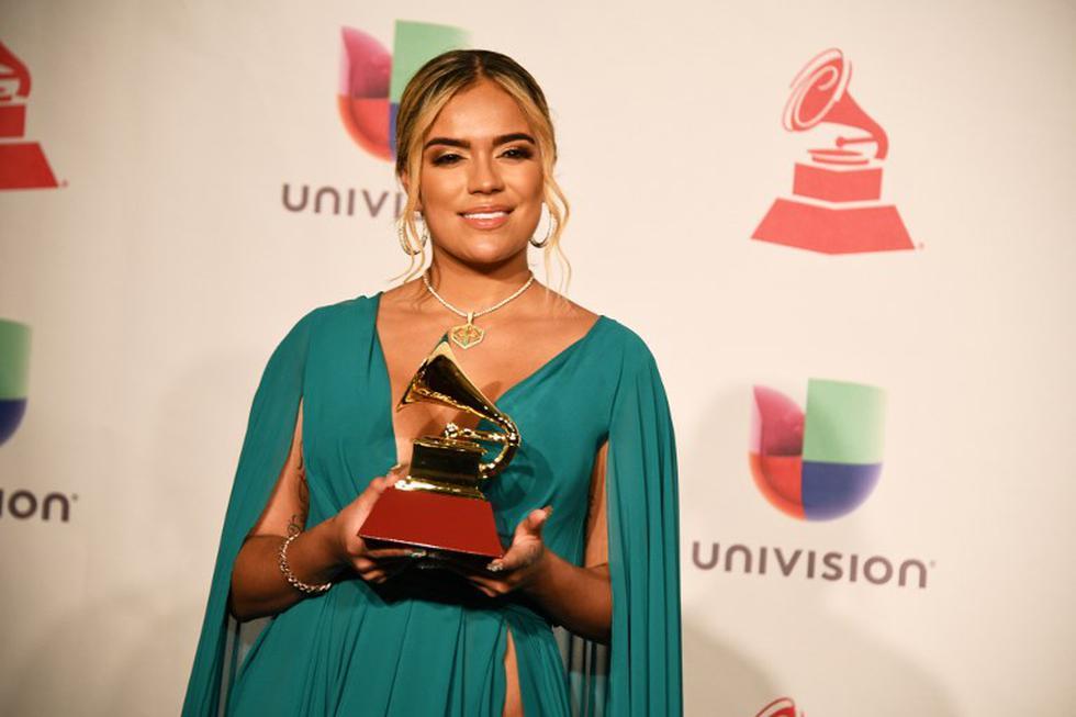 Karol G es hospitalizada luego de ganar su primer Grammy (Foto: AFP)
