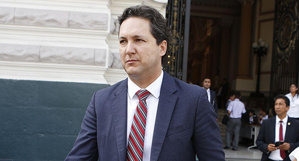 Daniel Salaverry afrontará dos investigaciones preliminares en la Comisión de Ética Parlamentaria. (Foto: GEC)
