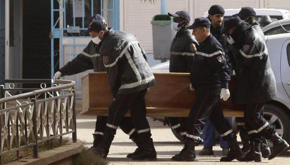 IRRECONOCIBLES. Varias víctimas no han sido identificadas porque sus cadáveres están calcinados.(Reuters)