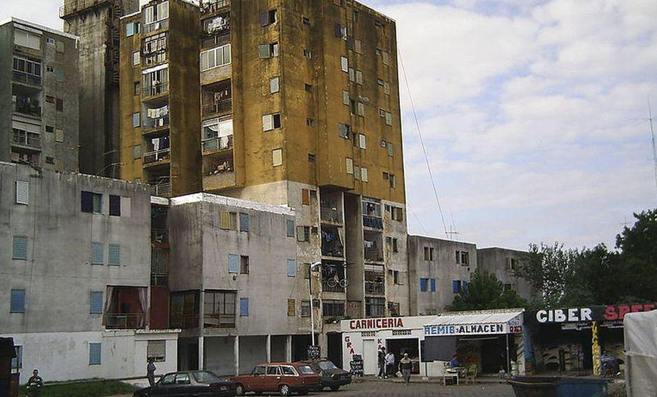 Conjunto habitacional Fuerte Apache, lugar donde creció Carlos Tevez. (Foto: Wikipedia | Gabricocek)