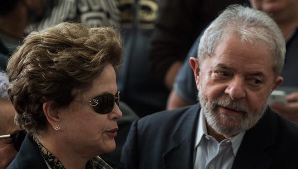 La Fiscalía presentó cargos contra Luiz Inácio Lula da Silva y Dilma Rousseff por el caso Petrobras (AFP).