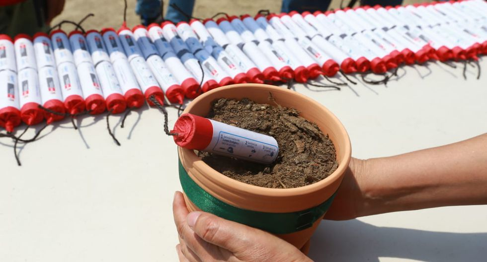 """Lanzan campaña """"Cohetes ecológicos"""", que busca reducir el uso de fuegos pirotécnicos. (Foto: Violeta Ayasca / GEC)"""