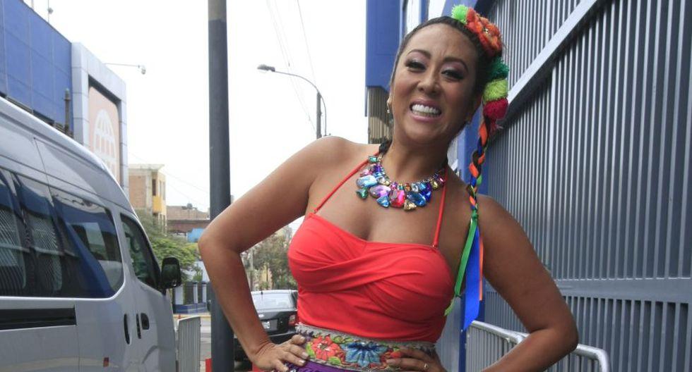 Catty Saenz creó el personaje de la 'Mamacha' y logró ser conductora del programa 'Estás en todas' con Sheyla Rojas y 'Choca' Mandros. (USI)