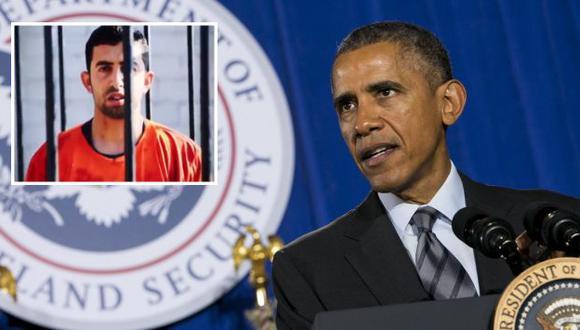 Barack Obama se pronunció sobre asesinado de piloto en manos del Estado Islámico. (EFE/Captura de video)
