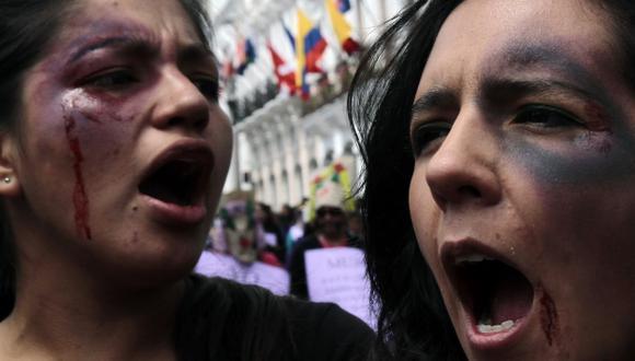 El 45% ha sufrido amenazas. (AFP)