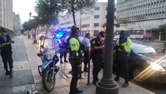 Serenos de la Municipalidad de Lima intervinieron a menores
