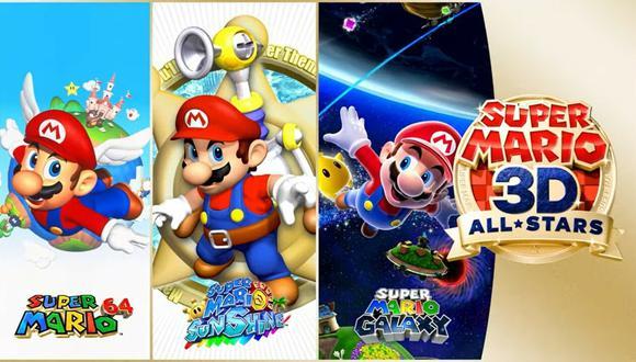 'Super Mario 3D All-Stars' traerá tres títulos remasterizados a Nintendo Switch.