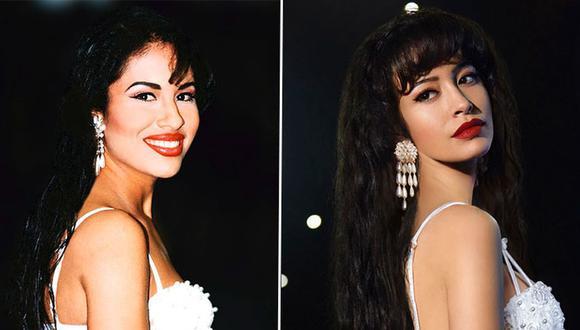 Selena Quintanilla fue una de las cantantes de tex-mex más exitosas de los años 90. Christian Serratos fue elegida para interpretar a la estrella mexicana (Foto: Netflix/Getty)