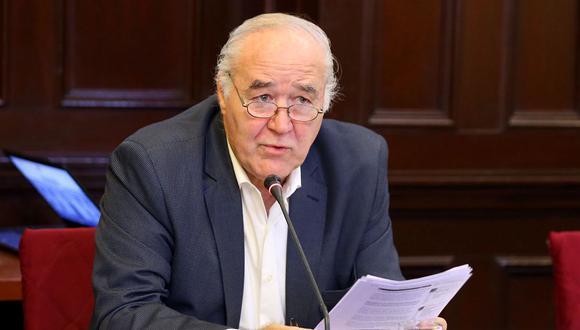 Víctor Andrés García Belaunde presidirá la sesión en la que se evaluará la moción de censura contra la Mesa Directiva por presuntamente festinar trámites para aprobar ley que beneficiaría a Fujimori. (Foto: Congreso)