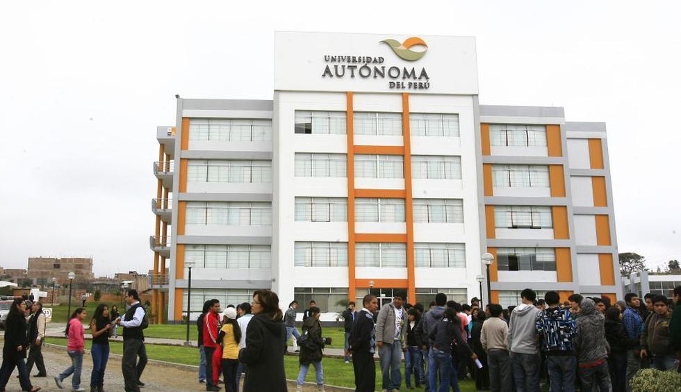 UA alcanzó el licenciamiento de la Sunedu por 6 años-. (Perú21)
