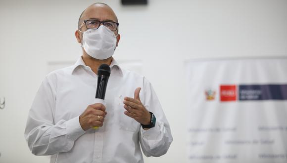 Víctor Zamora fue ministro de Salud por casi cuatro meses y tras su salida, el sector fue asumido por Pilar Mazzetti. (Foto: Britanie Arroyo / GEC)