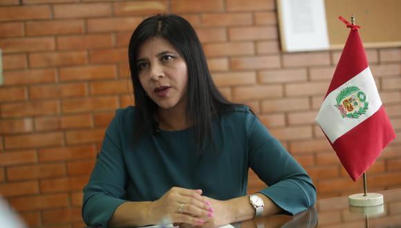 La procuradora Silvana Carrión consideró el accionar de Tomás Gálvez como un intento de obstaculizar la labor del equipo especial. (Foto: GEC)