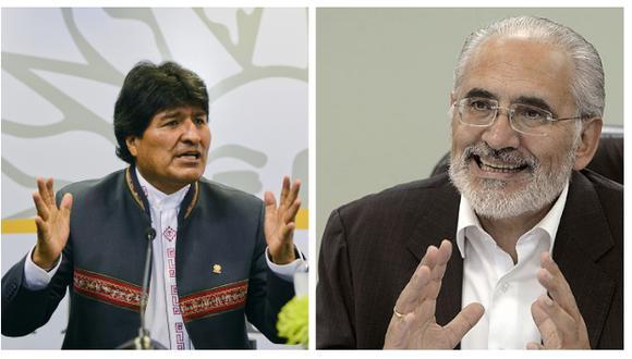 Ex presidente Carlos Mesa vencería a Morales en una segunda vuelta con el 48% según una encuesta (Efe/AP).