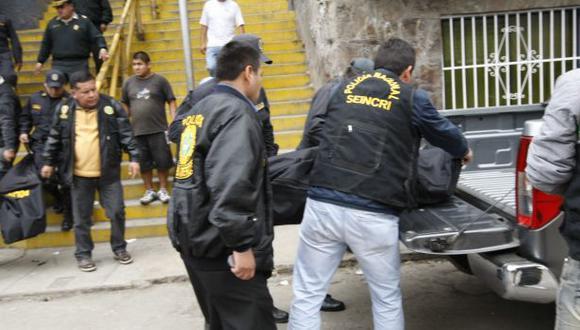 Los cuerpos fueron evacuados a la morgue. (Archivo/Referencial)