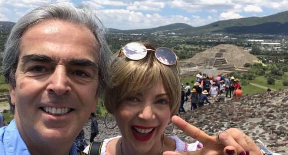 Lorenzo Lazo recordó a Edith González con una hermosa foto. (Foto: @lazomargain)