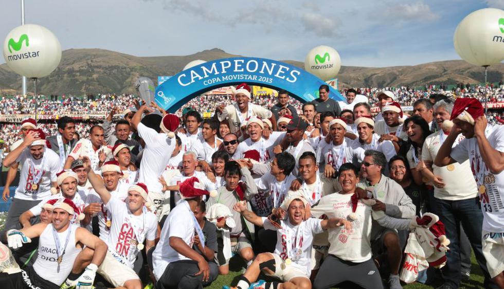 Universitario conquistó su campeonato 26 ante Real Garcilaso en la altura de Huancayo. (Andina)