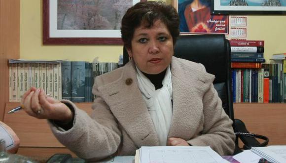 Balance. Procuradora Sonia Medina hizo un balance de gestión. (USI)